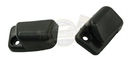 Sun Visor Clips Pair Black