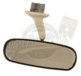 Interior Rear View Mirror with White Stem (T2)