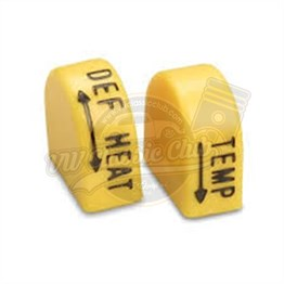 Heater Switch Dual Yellow Caps (1100-1200-1300-1302-1303)