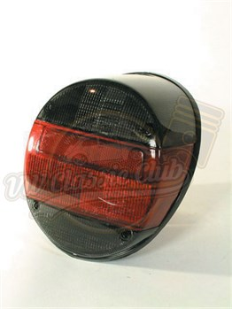 Complete Rear Light - Smoked & Red Lens
