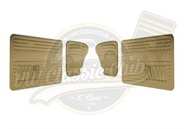 Door Panel Set Beige (1300-1302-1303)