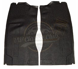 Seat Stand Rubber Mat Set Black (T2)