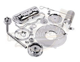 Chrome Deluxe Complete Engine Set