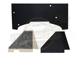 Black Engine Sound Isolation Cardboard (1100-1200-1300)