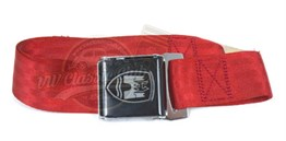 2-Point Lap Seat Belt Red (Piece)