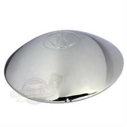 VW Chrome Baby Moon Hubcap