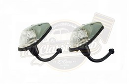 Front Turn Signal White  (Pair) (1100-1200)