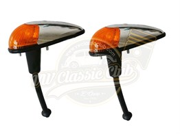 Bullet Front Indicator Assembly with Amber Lens Set