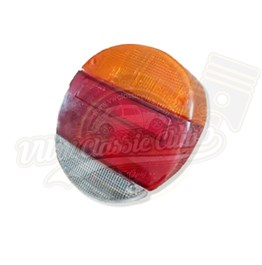Complete Rear Light - Yellow & Red Lens (Piece) (1302-1303)