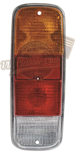 Rear Light Lens in Red and Yellow