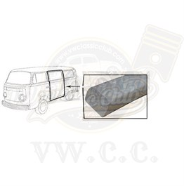 Cargo Door Weatherstrip (Set) (T2SPLIT)