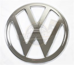 VW T2 A Case Front Grill Badge Emblem Chrome