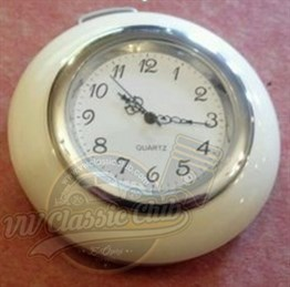 Horn Button With Clock White (1100-1200-1300-Karmann-Variant)
