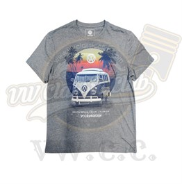 VW Licensed Grey T1 T-Shirt