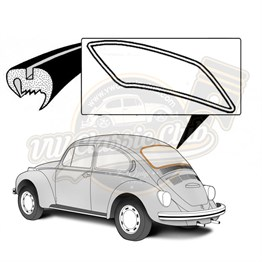Deluxe Rear Screen Seal (1302-1303)
