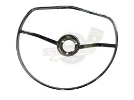 Chrome Full Circle Horn Ring (1100-1200-1300-Karmann-Variant)