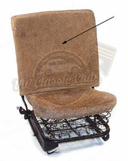Front Seat Back Pad (1200)