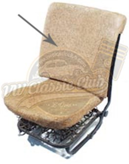 Front Seat Back Pad Short Type (1300-1302-1303)