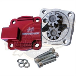 Full Flow Oil Pump Red (with 3/8 outlet) (1100-1200-1300)