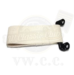 Short Check Strap & Bracket Natural (Pair) (T2SPLIT)