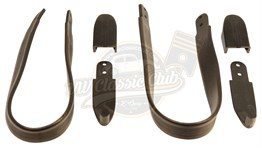 Grab Handle Set in Black (1300-1302-1303)